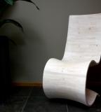gebogen stoel Bemelen van Gregor
